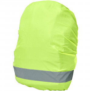 William reflective and waterproof bag cover, Neon Yellow