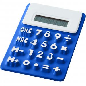 Splitz flexible calculator, Royal blue