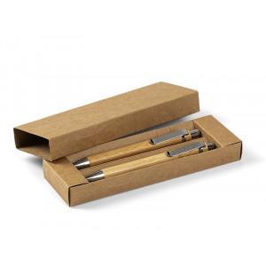 PALMA, drvena kemijska i tehnička olovka u setu, bež