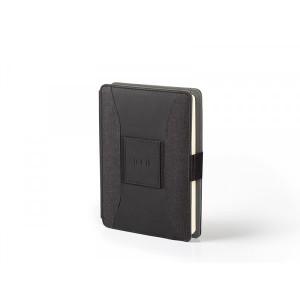 DARWIN, notes A5 sa pomoćnom baterijom, crni