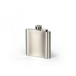 BRANDY, metalna pljoska, 170 ml, srebrna