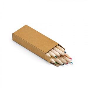 Pencil box with 10 coloured pencils