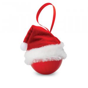 BOLIHAT, božićna crvena kuglica promjera 6 cm