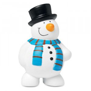 PENNY, anti-stres loptica u obliku snjegovića
