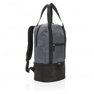3-u-1 rashladni ruksak i torba, sive boje