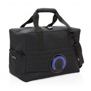 Rashladna torba sa zvučnikom, crne boje