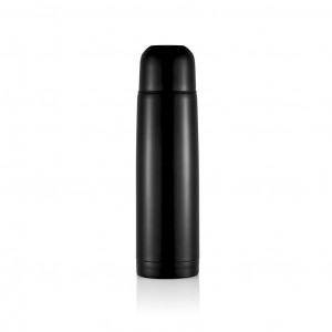Termosica od nehrđajućeg čelika 500ml, crne boje