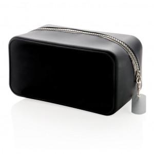 Silikonska toaletna torba, crne boje